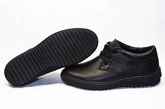 Зимние ботинки (НА МЕХУ) мужские ECCO (реплика) 13059 ⏩ [ 41,42,42,45 ], фото 3