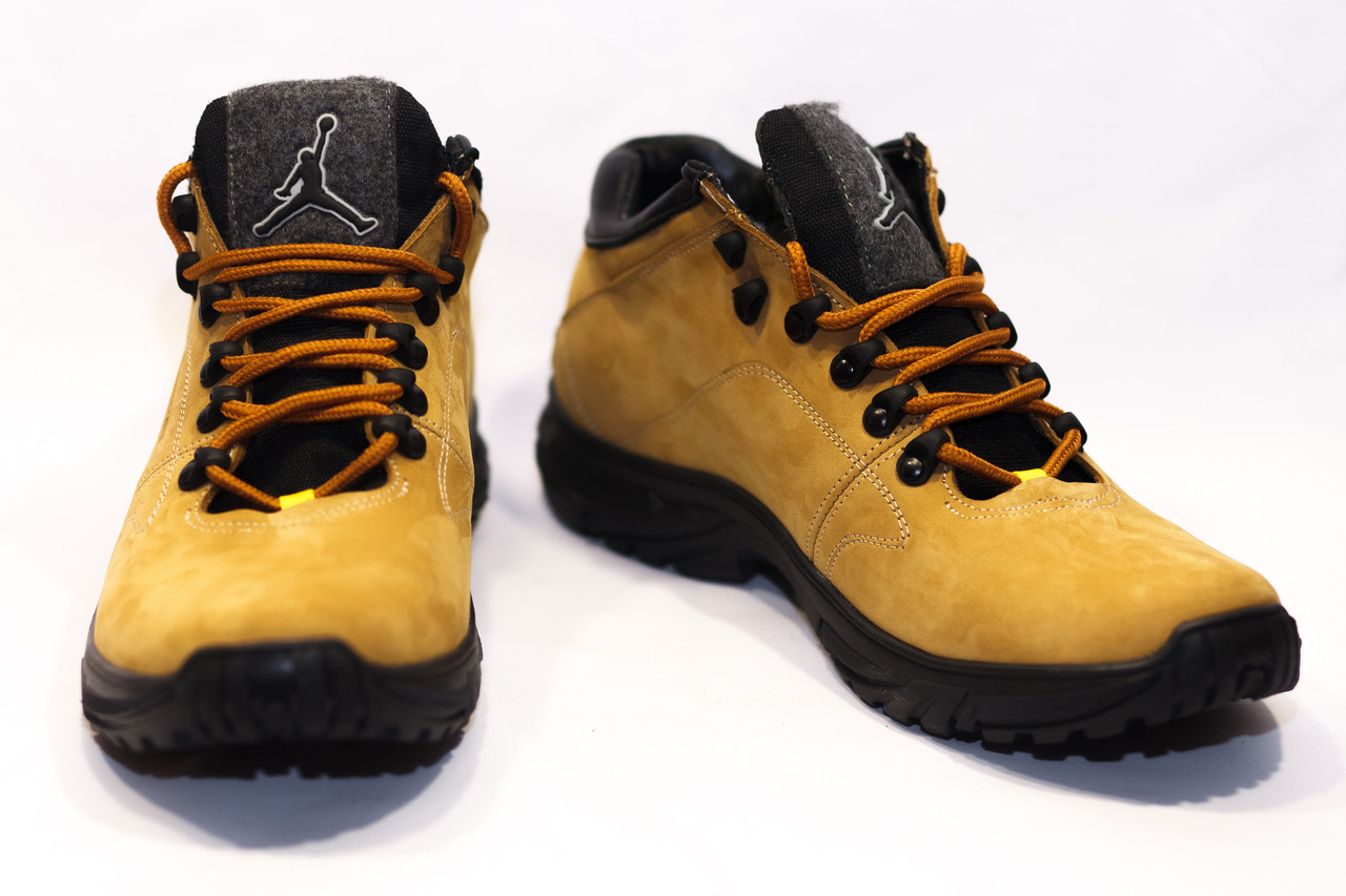 Зимние ботинки (НА МЕХУ) мужские Jordan (реплика) 13058 ⏩ [41,41,42,42,43,43 ]
