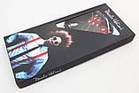 Красные мужские подтяжки Paolo Udini с узором, фото 4