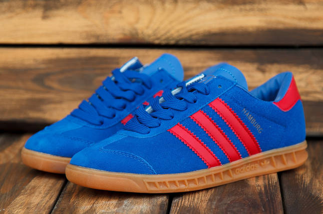 Кроссовки подростковые Adidas Hamburg (реплика) 30401, фото 2