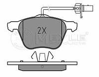 Meyle 025 232 6920/W Колодки тормозные передние Volkswagen T-4