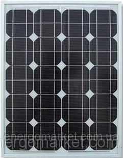 Монокристаллическая солнечная батарея Altek AKM -100 Вт