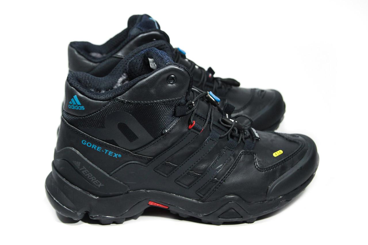 Зимние ботинки (на меху) мужские Adidas (реплика) TERREX 3-121 ⏩ [ 41,44,45 ]