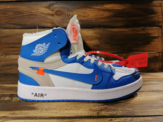 Кроссовки мужские Nike Air Jordan x OFF-White 00037 ⏩ [ 40.41.42.43 ], фото 2