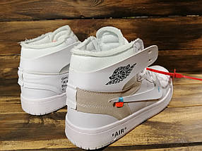 Кроссовки мужские Nike Air Jordan x OFF-White (реплика) 00039 ⏩ [ 40.41.42.43 ], фото 2