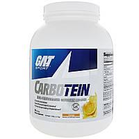 GAT, Карботеин, высокоэффективный поставщик гликогена, апельсин, 3,85 фунта (1,75 кг)