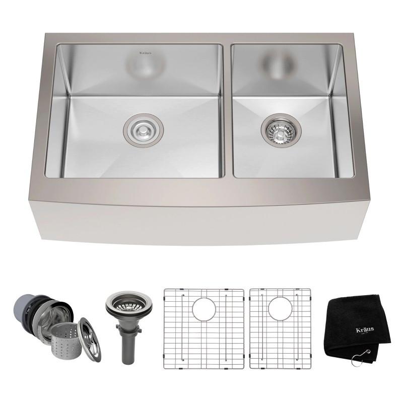Кухонная мойка Kraus Precision KHF203-33