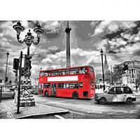 "Картина по номерам ""Яркий автобус"" КНО2146 scs"