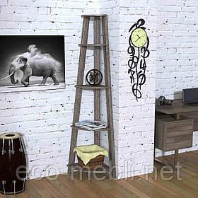Стелаж кутовий для дому чи офісу L-180 Loft Design Дуб Палєна
