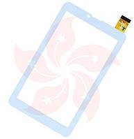 Тачскрин Glofiish X700 Белый White 184х104мм 30 Pin Тачскин Стекло Touch Screen