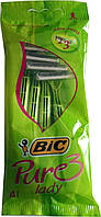 Станки для бритья Bic Pure 3 Lady 4 шт.