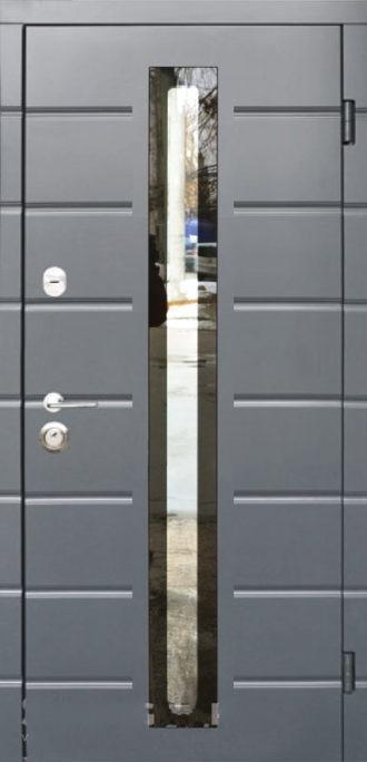 Входные двери Стилгард Серия ANTIFROST 20 Remsa Glass