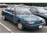 Лобовое стекло Mazda 323 89-94 C седан, универсал (XYG) , фото 2