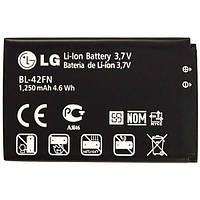 Аккумулятор LG BL-42FN. Батарея LG BL-42FN (1250 mAh) для C550 Optimus Chat P350 Optimus. Original АКБ (новая)