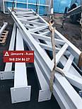 Изготовление металлических конструкций / ангаров / металлоконструкций / фермы, фото 9
