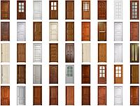 Двери межкомнатные из натурального дерева, собственное производство