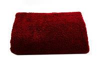 Маховое полотенце для рук и лица 50х90 Бордо Узбекистан