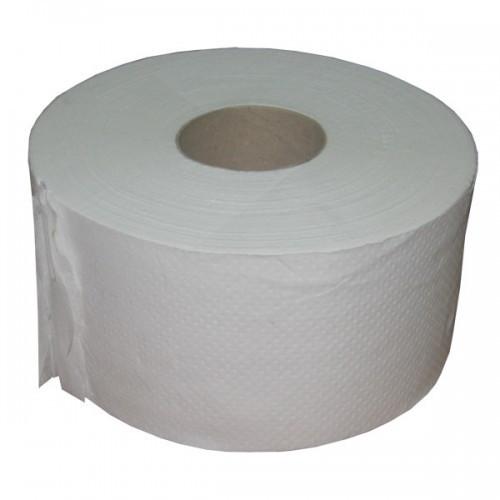 Туалетная рулонная бумага Джамбо 90 м двошаровая целюлоза