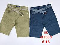 Котоновые шорты для мальчиков Setty Koop 6-16 лет
