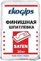 Шпаклевка финишная Saten Eko Gips 25 кг