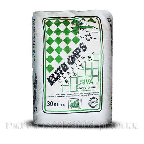 Штукатурка стартовая изогипс Elite Gips 30 кг (Турция)