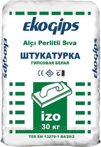 Штукатурка стартовая изогипс Экогипс 25 кг