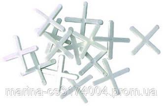 Крестик дистанционный для плитки  3 мм (200шт)