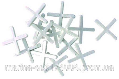Набор дистанционных крестиков для плитки  1,5 мм / 200 шт