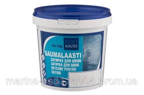 Затирка для швов Kiilto Saumal, цвет 10, 1кг