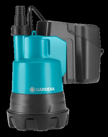 Насос аккумуляторный для чистой воды Gardena Accu2000/2 Li-18 Set Gar