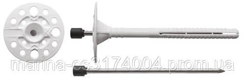 Дюбель СТ 335 KI-160 с металлическим стержнем и термоголовкой (250шт)