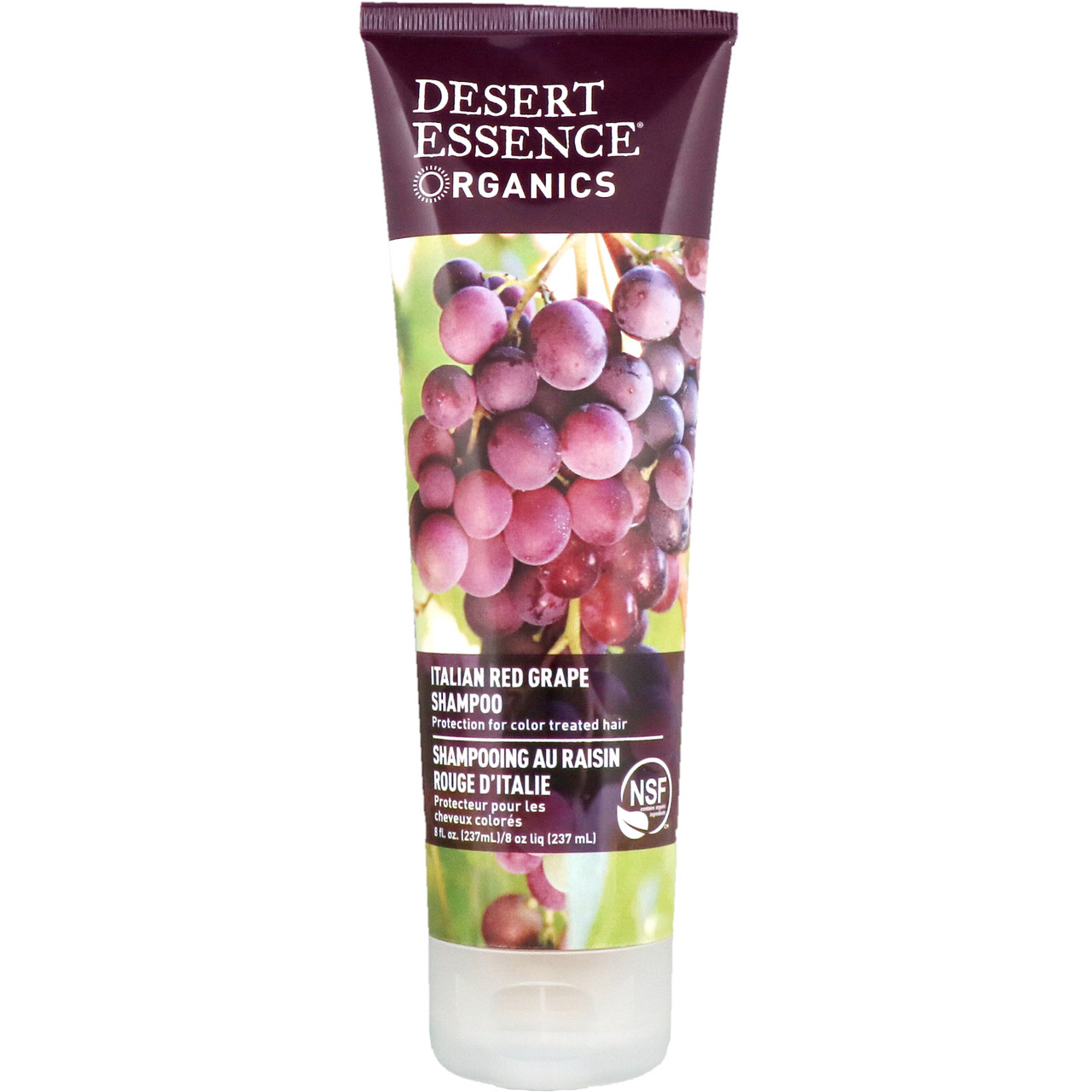 Desert Essence, Органический шампунь, итальянский красный виноград, 237мл