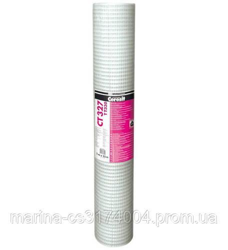 Стеклосетка армирующая Ceresit СТ 327 330г м2 25м2 (Антивандальная сетка)