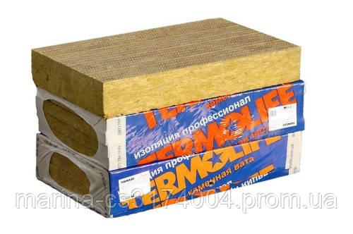 Минеральная вата ТермоЛайф Эко Фасад (базальт) 1000*600*100мм 135 г/м2 1,2м.кв