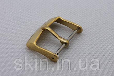 """Пряжка для ремешка часов, ширина - 20 мм, цвет - """"золото"""", артикул СК 5499, фото 2"""