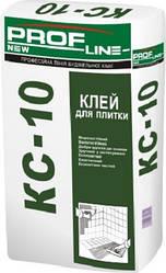 Клей для керамической плитки Profline КС-10 25кг Д