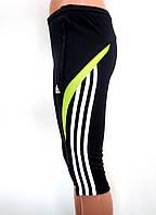 Женские короткие лосины бриджи капри adidas climalite оригинал