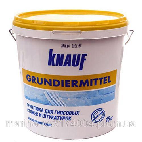 Грунтовка Грундирмиттель Knauf 15кг, Германия