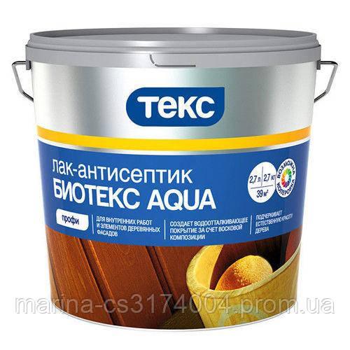 Антисептик Биотекс Aqua ТЕКС 9л орех
