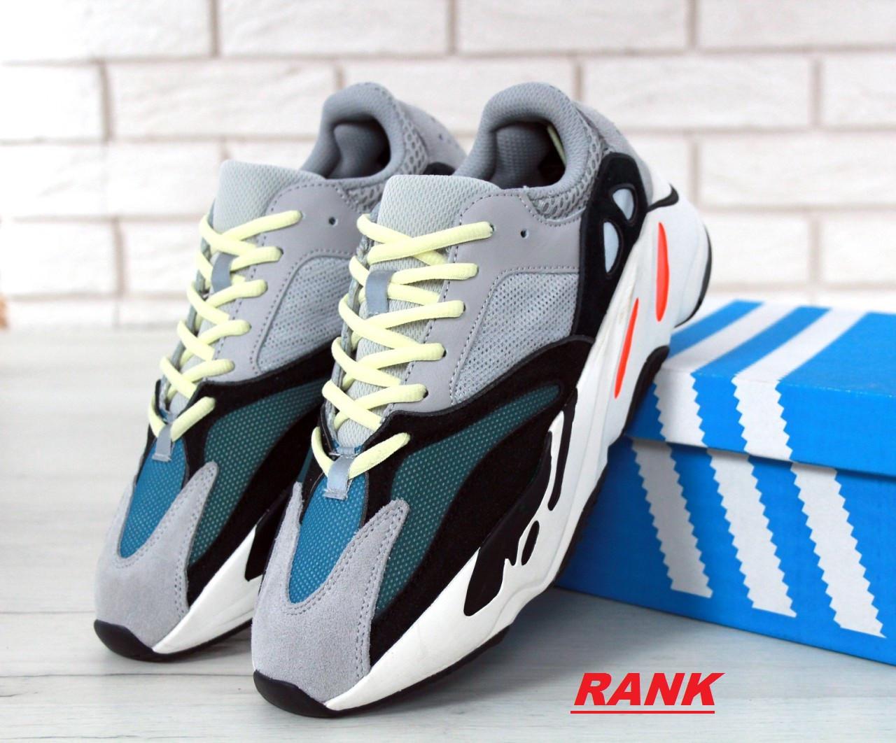 242aa496 Кроссовки мужские Adidas Yeezy Boost 700 в стиле Адидас Изи Буст 700,  разноцветные