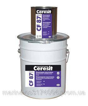 Эпоксидная грунтовка Ceresit CF-87А 10кг Д