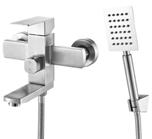 Кран для ванной с нержавеющей стали Fleko FS513