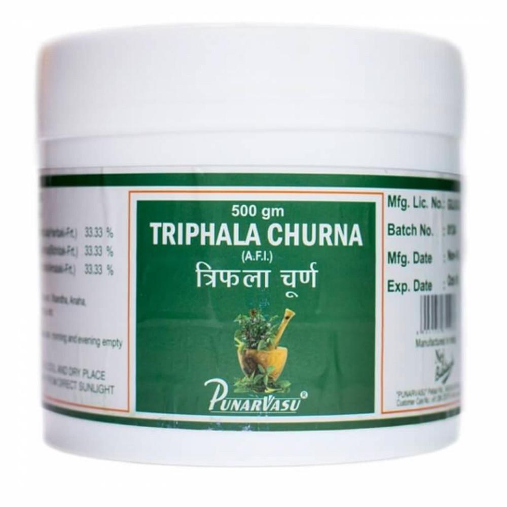 Трифала Порошок (Triphala Churna, Punarvasu), 500 грамм