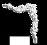 Угловой элемент Classic Home 4-0211-6L/R , лепной декор из полиуретана 216*240, фото 2