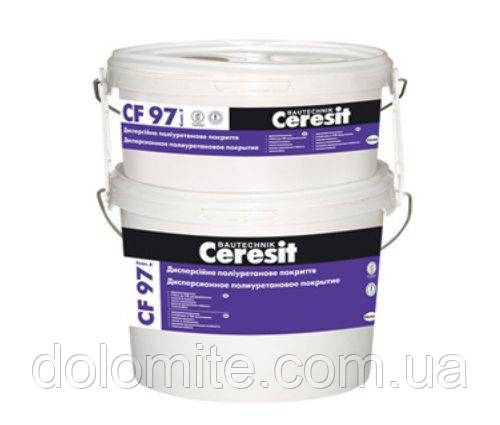 Декоративно-защитная полиуретановая краска Ceresit CF 97 4,8кг