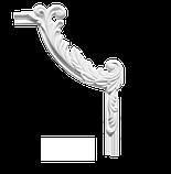 Угловой элемент Classic Home 4-0221-5L/R , лепной декор из полиуретана 294*215, фото 2