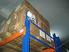 Стелаж палетний приставний Н4000хL2700х1100 мм(пол.+2 рівня по 2300 кг на рів, фото 5