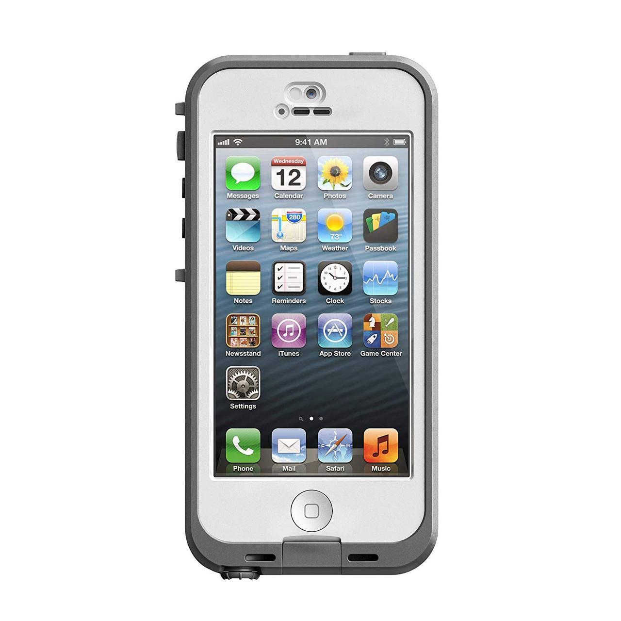 Чехол LifeProof NÜÜD Gray для iPhone 5/5S