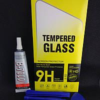 Защитное стекло Samsung Galaxy J7, J700, J700 fnклей, инструмент