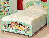 Кровать Мульти 900х2000 +ламели алфавит (Світ Меблів)